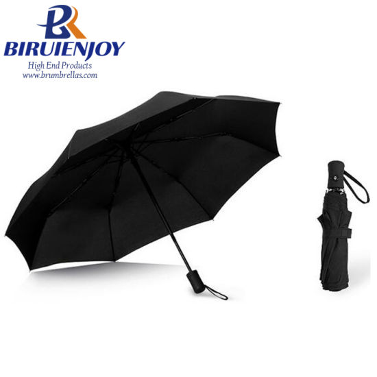Wholesale Cheap Automatic Open and Close Outdoor Travel 3 Fold Umbrella