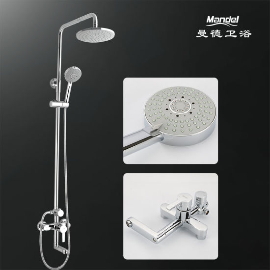Sanitary Ware Bass Shower Head and Shower Set for Bathroom Accessories