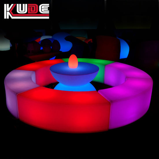 Event /Party / Bar Furniture Light up LED Furniture Plastic Furnishing pictures & photos
