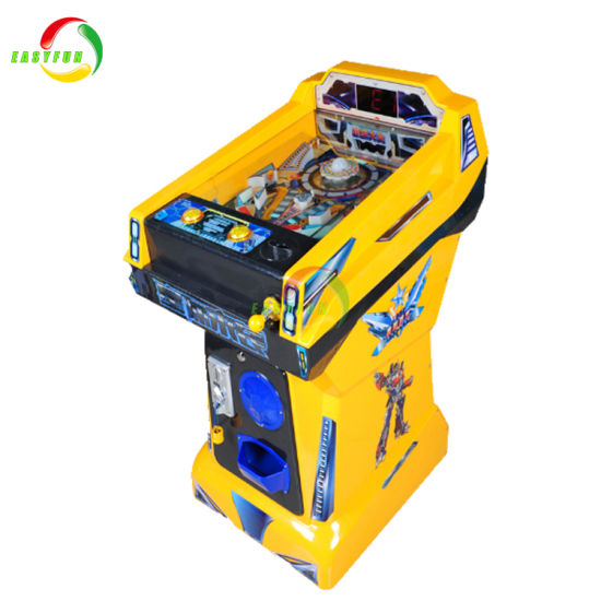 Coin Operated Electronic Mini Children Pinball Marbles Game Machine