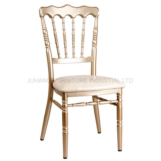 Popular Manufacturer Stackable Napoleon Chair for Wedding Event (HM-W013) pictures & photos
