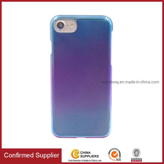 Full Cover Trendy Color Mobile Case Plated PC Phone Case