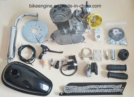 80cc Bicycle Engine Kits 2 Stroke Gas Motorized Bike Super Pk80 Allen Bolts Engine Kits