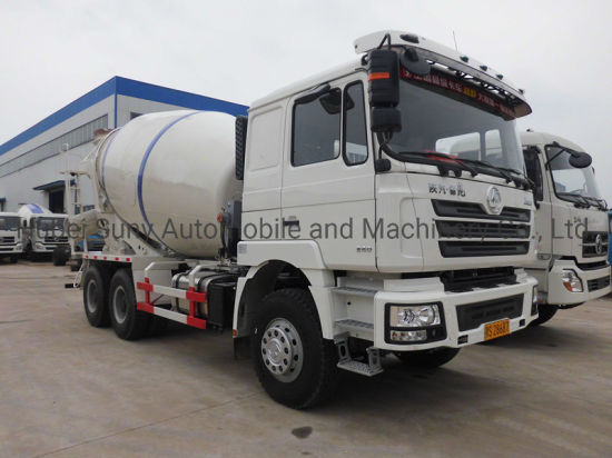 Vietnam Used Shacman 10000L Cement Mixer Truck Factory pictures & photos