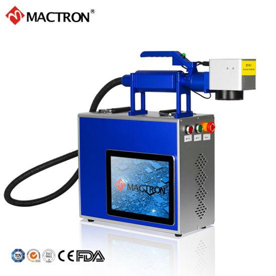20W Metal Fiber Laser Marking Machine Laser Engraving Machine