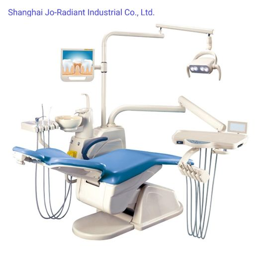Hospital Adjustable Dental Unit with Sensor Lamp Medical Equipment pictures & photos