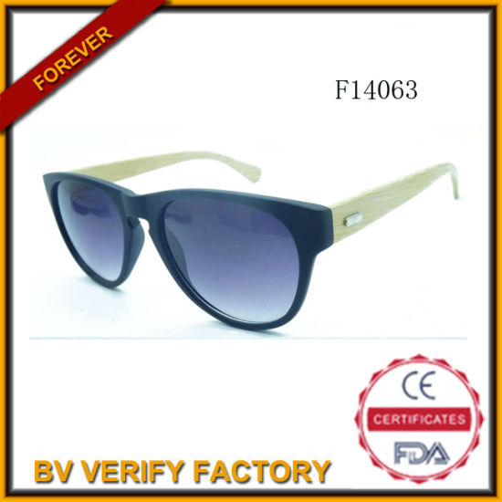 0dc3032197 F14063 Costom Logo Bamboo Sunglasses with Polarised Lens pictures   photos