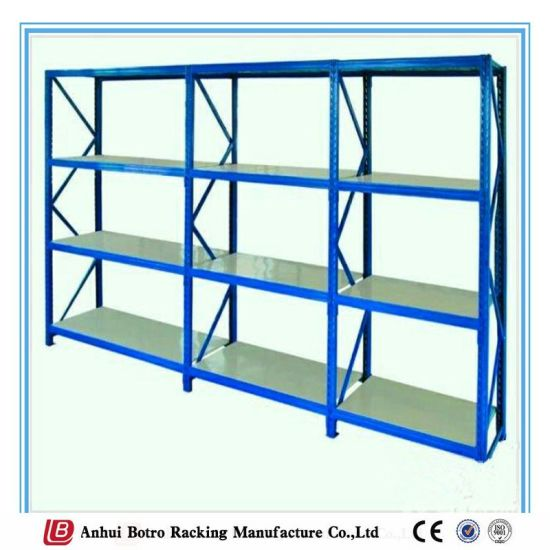 Light Medium Duty Pharmacy White Coated Wire Shelving pictures & photos