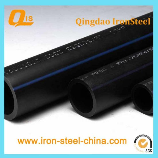 HDPE Pipe for Water Supply by PE100, PE80 pictures & photos