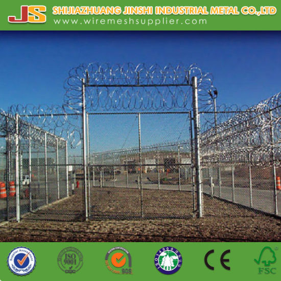 China High Tensile Concertina Razor Barbed Wire for Border - China ...