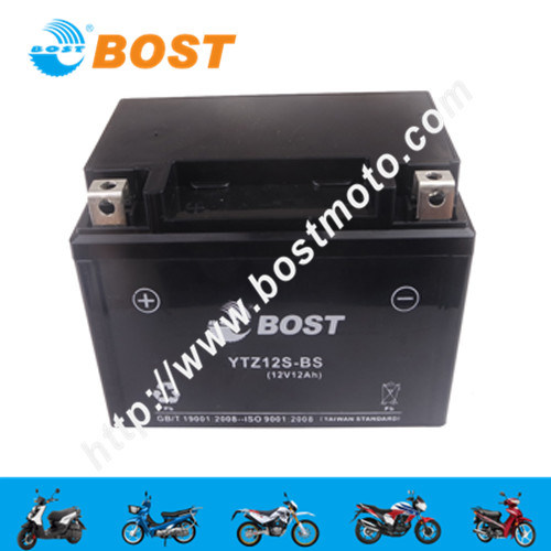 Motorcycle Spare Parts Scooter Engine Maintenance-Free 12V 4A 5A 7A Motorcycle Battery for Motorbike