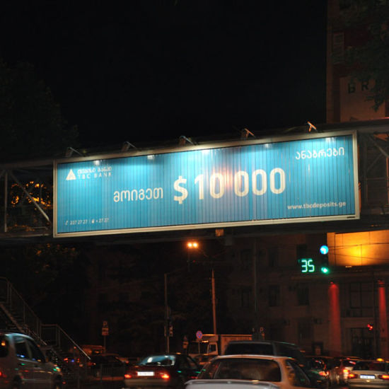 Large Size Outdoor Advertising Tri-Vision Billboard Display (F3V-131) pictures & photos