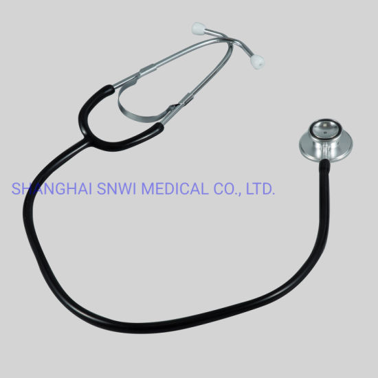 CE/ISO Certified Multifunctional Stainless Steel Dual Head Stethoscope for Surgical Medical Supplies