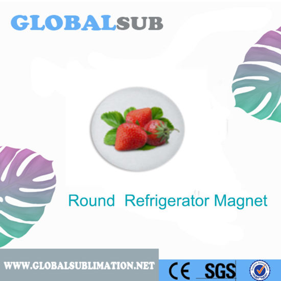 Strong Magnetic Film Sublimation Refrigerator Magnet pictures & photos