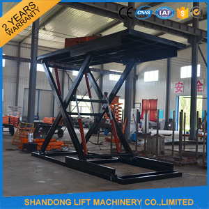Hydraulic Scissor Mobile Car Lift for Home Garage pictures & photos