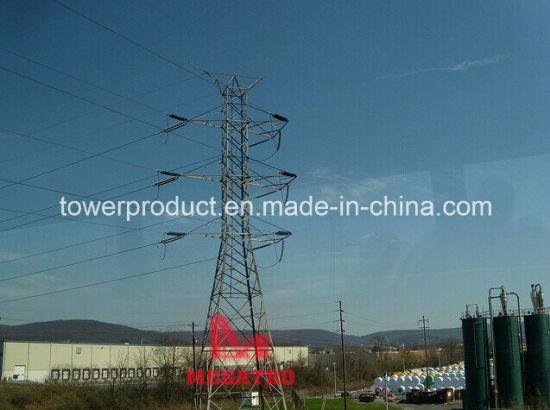 Megatro 230kv Double Circuit Angle Tower (MGP-DCA230)