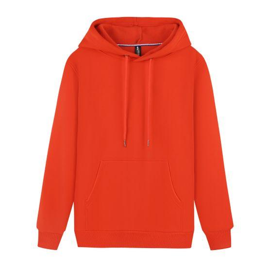 Pullover Solid Top Long Sleeve Hoodie Sweatshirt