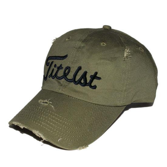 c2ba815de6a06 China Custom Unstructured Dad Hat Plain Distressed Baseball Cap ...