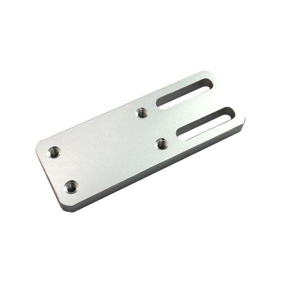 CNC Machining Aluminium Machined Parts Light Sensor Plate Spare Parts