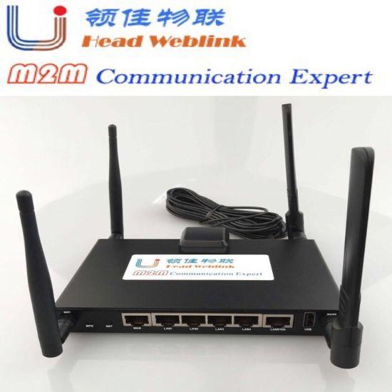 Hdrm200 M2m Industrial Router Support Lte-FDD. B1/B3/B4/B5/B7/B8/B28 Lte-Tdd B38/B40/B41