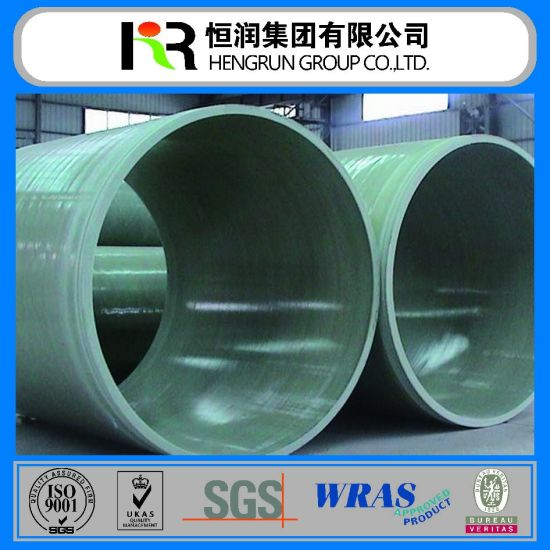 GRP Water Pipe Fittings for Power Plant Cooling Circulating Water