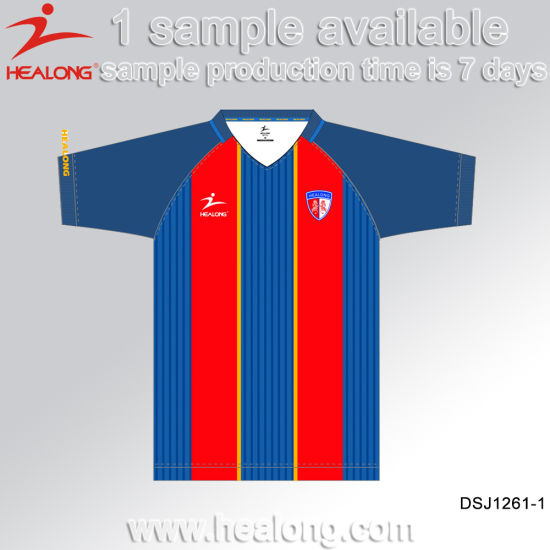 Healong Sportswear Sublimated Wholesale Blank Uniform Shirt Football Jerseys