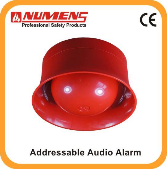85dB Loud Sounder Output, Audible Alarm, White (640-002)
