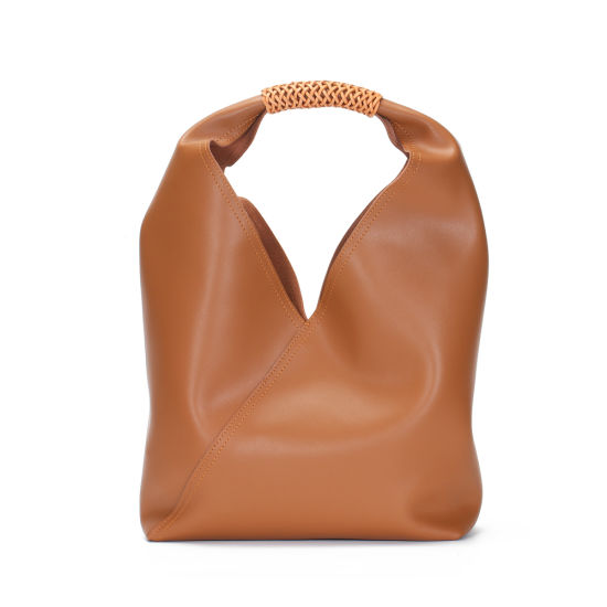 New Design Entry Lux Style Soft Genuine Leather Ladies Tote Lash Handbags