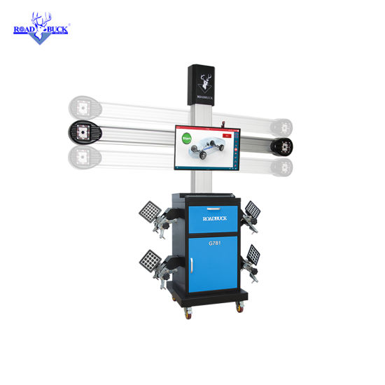 Customized 2HD Cameras Automatic 3D Wheel Alignment for Work Shop