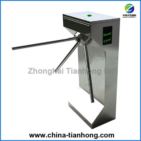 Full Automatic Stainless Steel Housing Tripod Turnstile Th-Tt208 pictures & photos