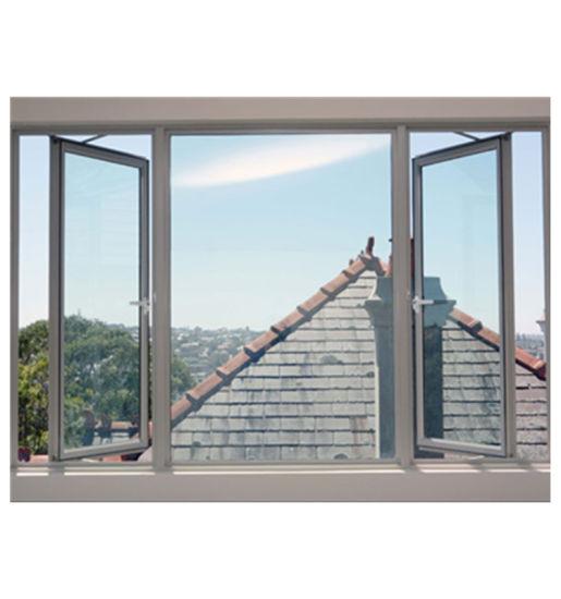 Double Glazed for Air Tightness Aluminum Windows Casement Window