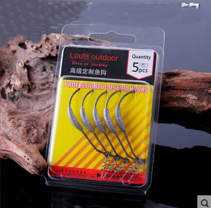 Soft Lure Use Stainless Steel Hook Fishing Hook with Lead and Spinner pictures & photos