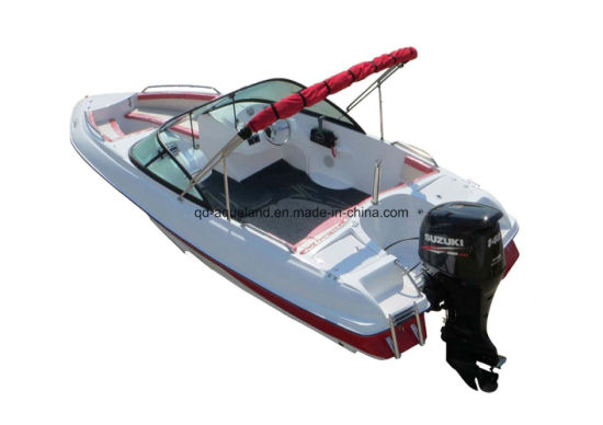Aqualand 17feet Fiberglass Speed Boat/Bowrider/Walkaround Motor Boat (170) pictures & photos