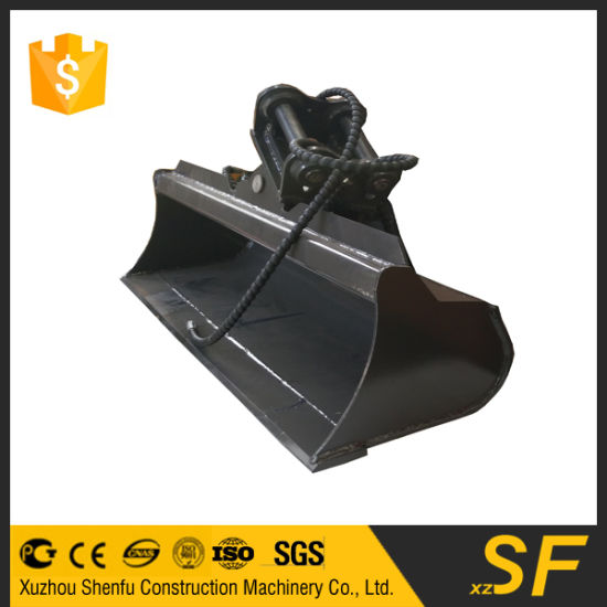 Spare Parts Earth Moving Machinery Mini Excavator Bucket Tilting Bucket pictures & photos