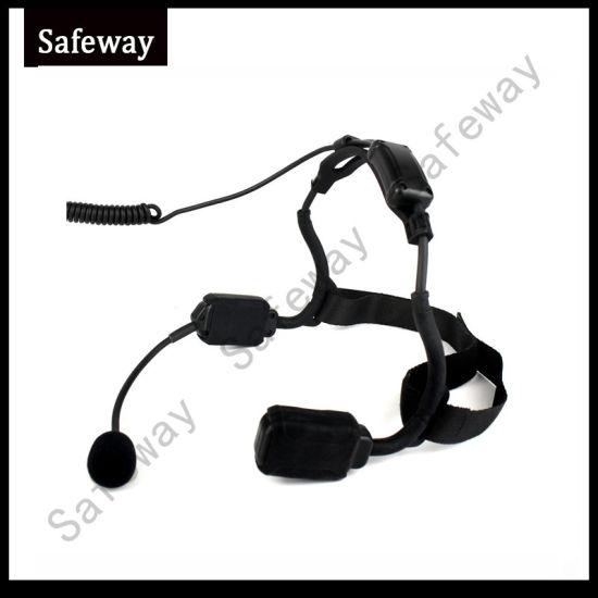 Walkie Talkie Bone Conduction Tactical Headset for Motorola pictures & photos