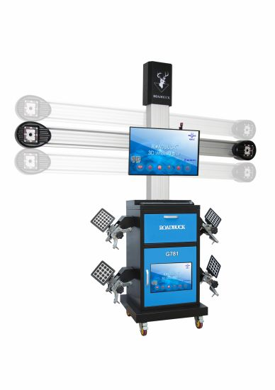 2HD Cameras Competitive Computerised Automatic 3D Wheel Aligner for Auto Shop
