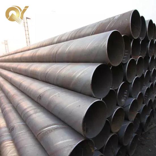 En10217 S235jr S355jr Building Construction ERW Welded Carbon Steel Pipe