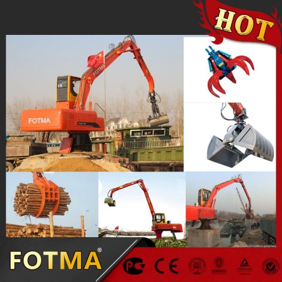 Rotating Wood Gripper Crane, Log Grab pictures & photos
