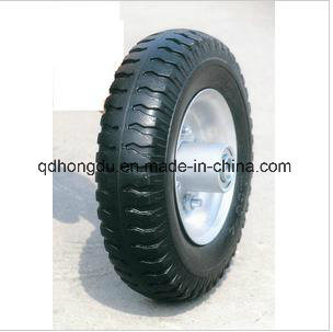 PU Foam Solid Rubber Wheel pictures & photos