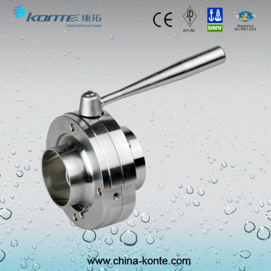 Stainless Steel Pneumatic Sanitary Valves pictures & photos