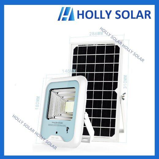 Solar LED Floodlight 3W Garden Light Remote Control