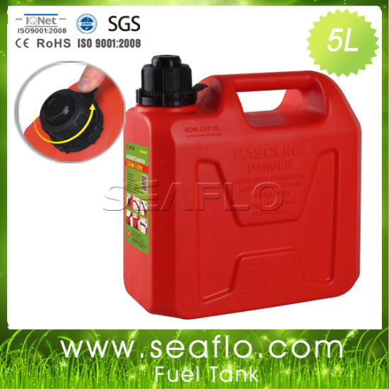 Plastic Container Seaflo 5L 1.3 Gallon Fuel Storage Tank for RV pictures & photos