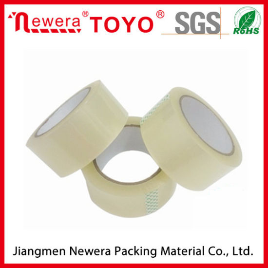 High Adhesive Flat Pack BOPP Carton Packing Adhesive Tape pictures & photos