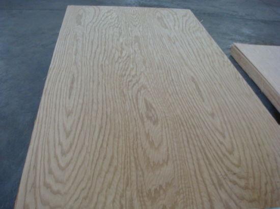 China Red Oak Natural Veneer Faced