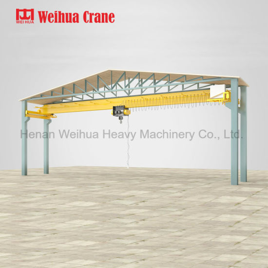 5t Workshop Single Girder Overhead Crane pictures & photos