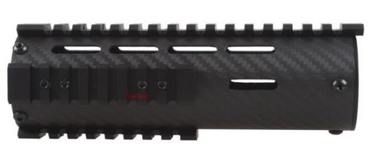 Carbon Fiber Tactical Free Float Carbin 7 Inch Ar15 M4 Handguard pictures & photos