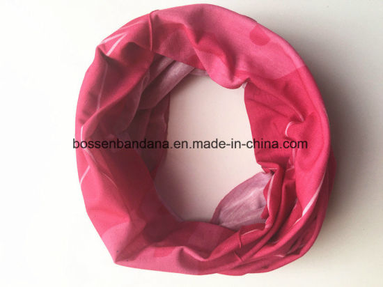 OEM Produce Customized Design Logo Printed Polyester Microfiber Magic Neck Warmer pictures & photos