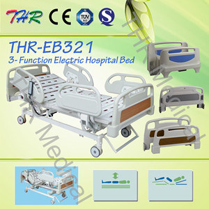 Thr-Eb321 High Quality Aluminum Alloy Electric Hospital Bed pictures & photos
