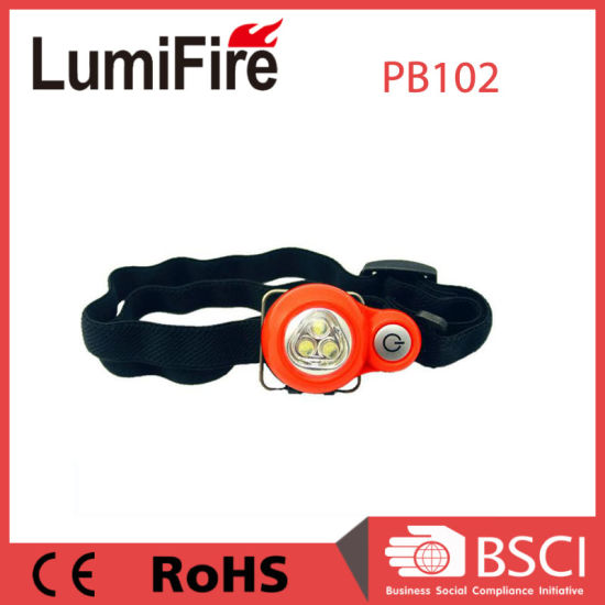 Plastic Loverly Mini LED Headlamp for Kids pictures & photos