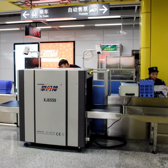 Airport Cargo Luggage Security Detector, X-ray Scanner Equipment X Ray Baggage Scanner Xj6550 pictures & photos